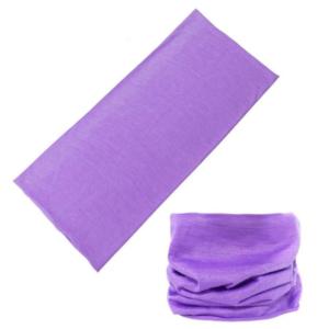Fialový multifunkční šátek
