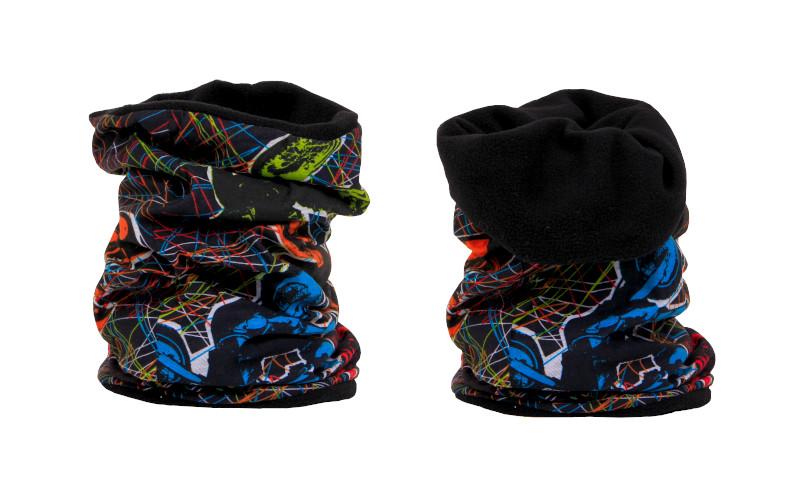Multifunkční šátek Fleece Zimní Silic Média