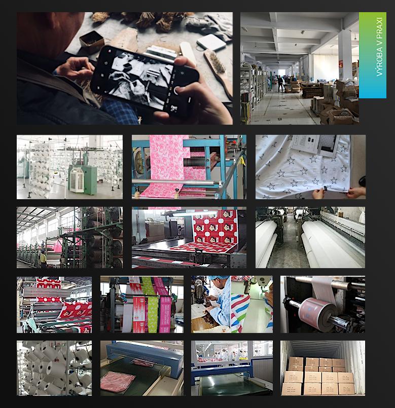Výroba multifunkčních šátků